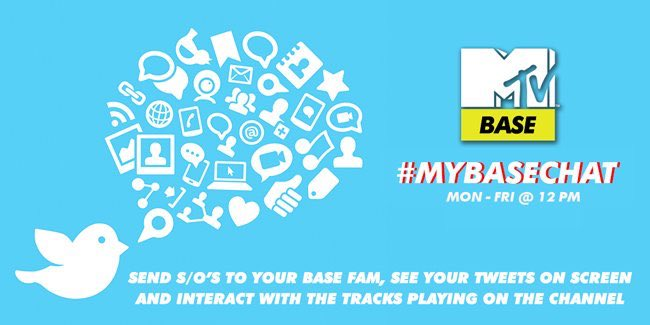 The celebration continues,it's not too late to send your s/o's with #MyBaseChat to see your tweet on tv! #MTVbaseis13