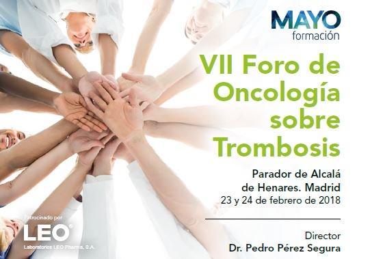 Cancerclot On Twitter Bienvenidos Al Vii Foro De Oncologia Y Trombosis En Esta Edicion Tenemos Temas Practicos De Nuestro Dia A Dia Como Clinicos Y Las Nuevas Lineas De Investigacion En Trombosis
