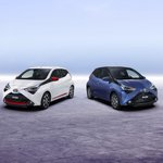 The squad just got sleeker.  Here's your first look at the new #Aygo.