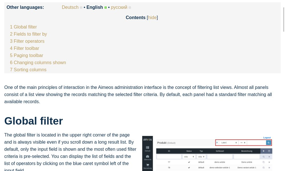 test Twitter Media - The article how to use the filter in list views of the Aimeos e-commerce admin interface is now describing th 2018.01 version:  https://t.co/f1CMDFFLkx https://t.co/uvj7iawYuy