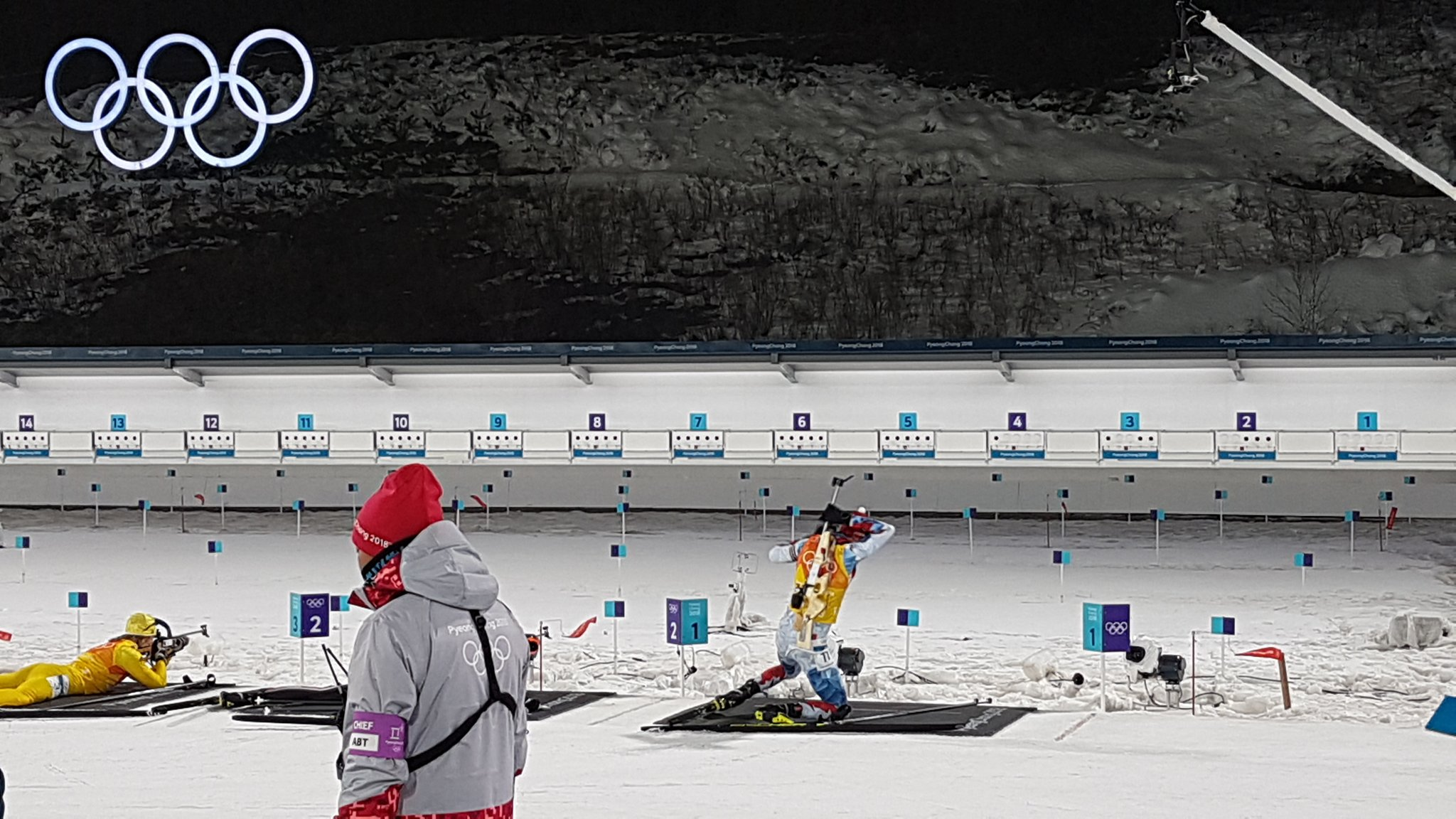 Ibu World Cup On Twitter One Spare And Cze Soukup Keeps The Lead For Olympijskytym But Nor Johannes Thingnes Boe Is With Him Now Biathlon Pyeongchang2018 Https T Co Ccl3pqnoy9