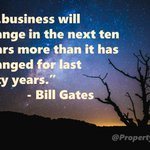 The need for #change in business over the next 10 years.#PropTech #Innovation