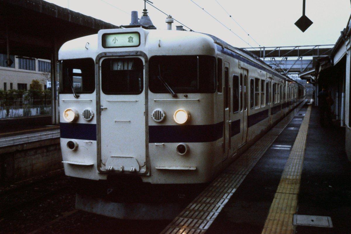"""うきは ar Twitter: """"2002年10月、小野田駅で撮影したJR九州の415系 ..."""