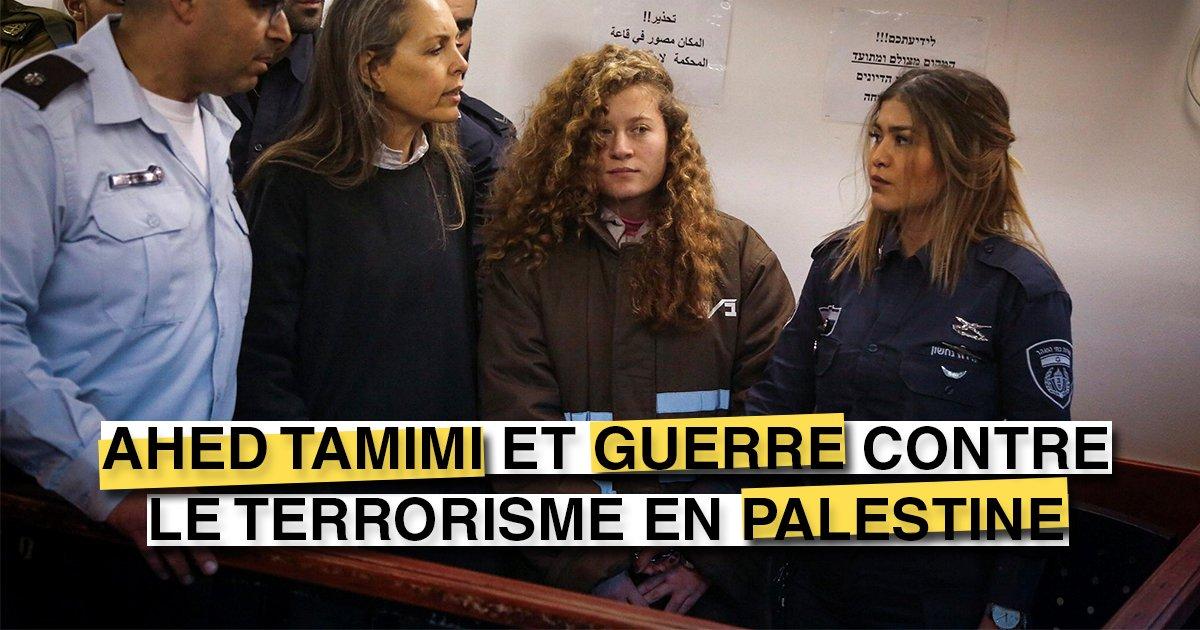"""Ahed #Tamimi et """"guerre contre le terrorisme"""" en #Palestine http://bit.ly/tsm232181  - FestivalFocus"""