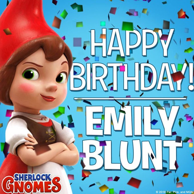 Happy birthday to our fair Juliet, Emily Blunt!
