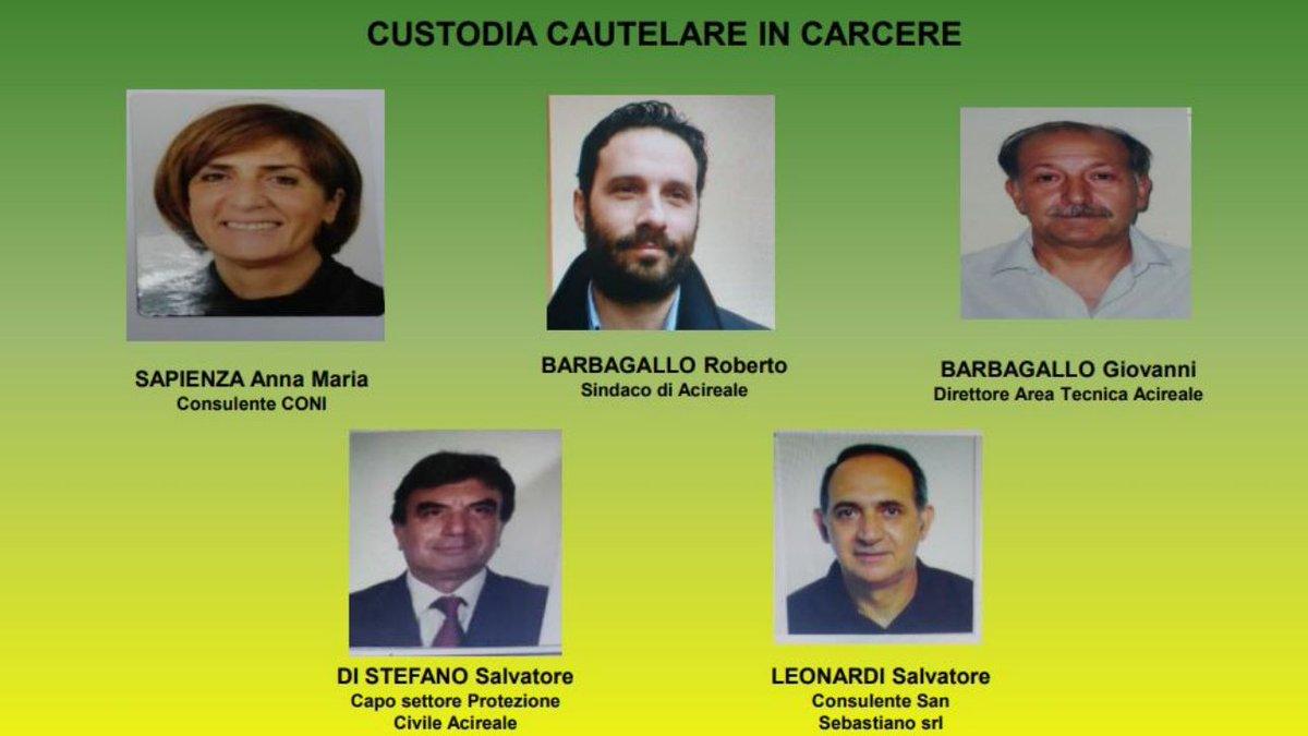 Corruzione: otto arresti in Sicilia, anche il sindaco di Acireale  #Catania https://t.co/MMoVLAQNAu
