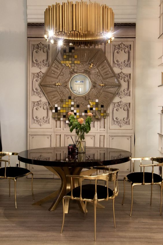 Nº11 Chairs, The Patch Dining Table, And The Picadilly Mirror Can Be The  Perfect Combination For The Most Exclusive Set.