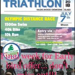 Image for the Tweet beginning: Don't miss out @oceanfmsport @BelparkTri