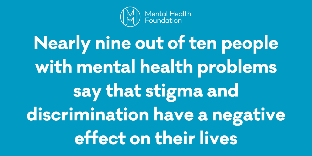 Mental Health Fdn On Twitter Stigma Can Be Exacerbated By The