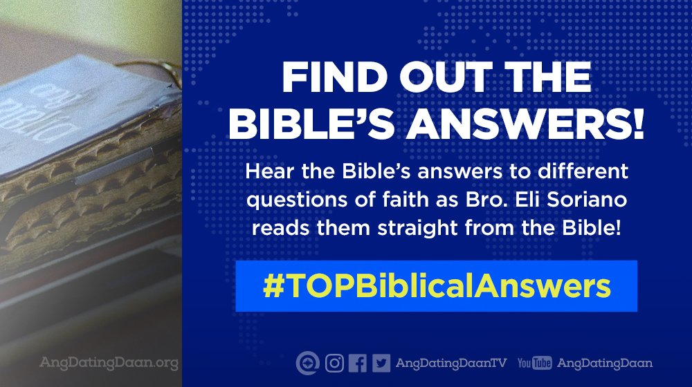 ang dating daan question and answer