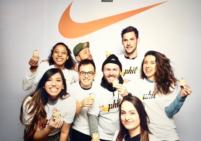 Happy Birthday Phil Knight! With love from all of us EMEA HQ