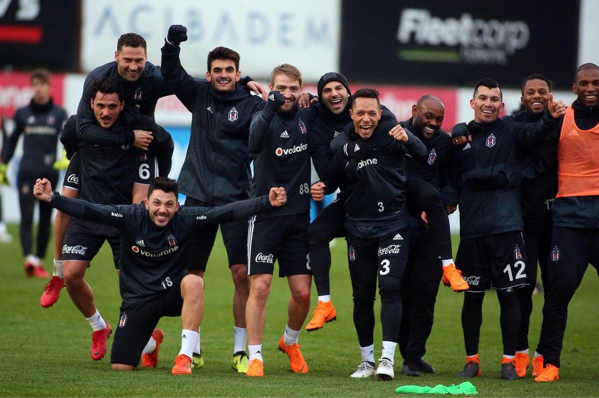 Fenerbahçe maçı hazırlıkları devam ediyo...