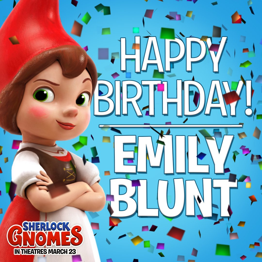 Happy birthday to our fair Juliet, Emily Blunt!