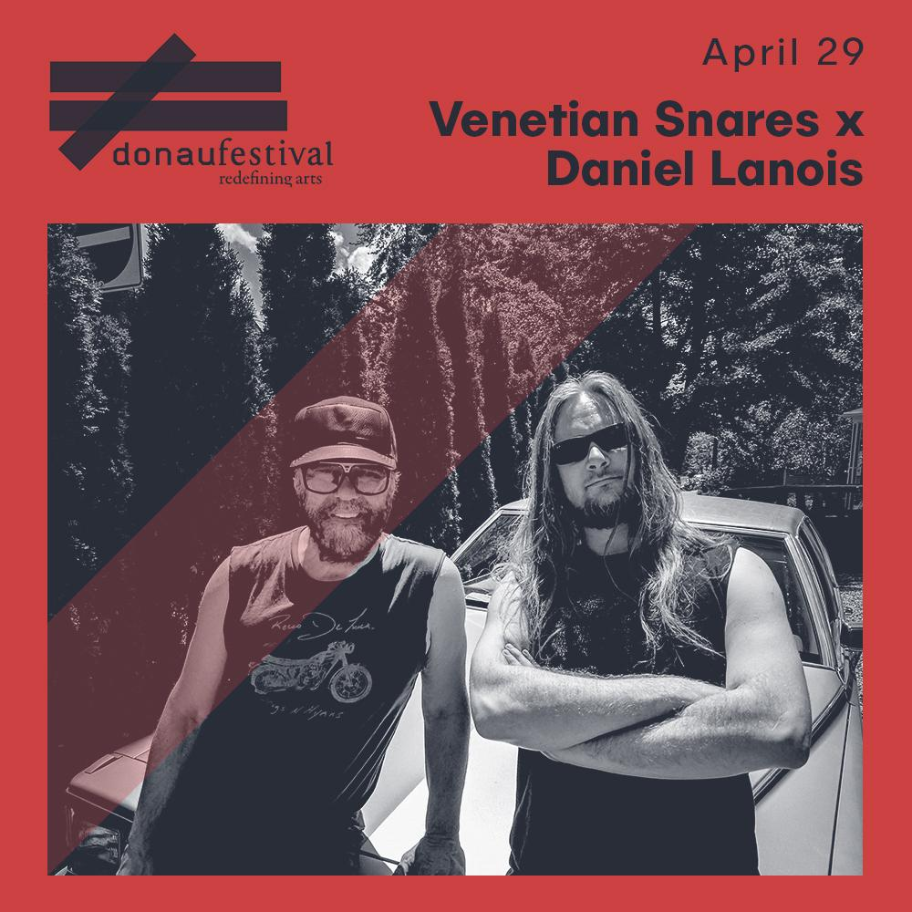 ╱╱╱╱ NEW ACT CONFIRMED ╲╲╲╲  We're stoked to announce @daniellanois x venetian @snares at donaufestival 2018! 📣📣  They've also got a collab album coming on @Planetmurecords which you shouldn't miss out on - https://t.co/5oG88GJyZ8  #donaufestival #donaufestival2018 ⌛️ https://t.co/1rSG5yKMTb