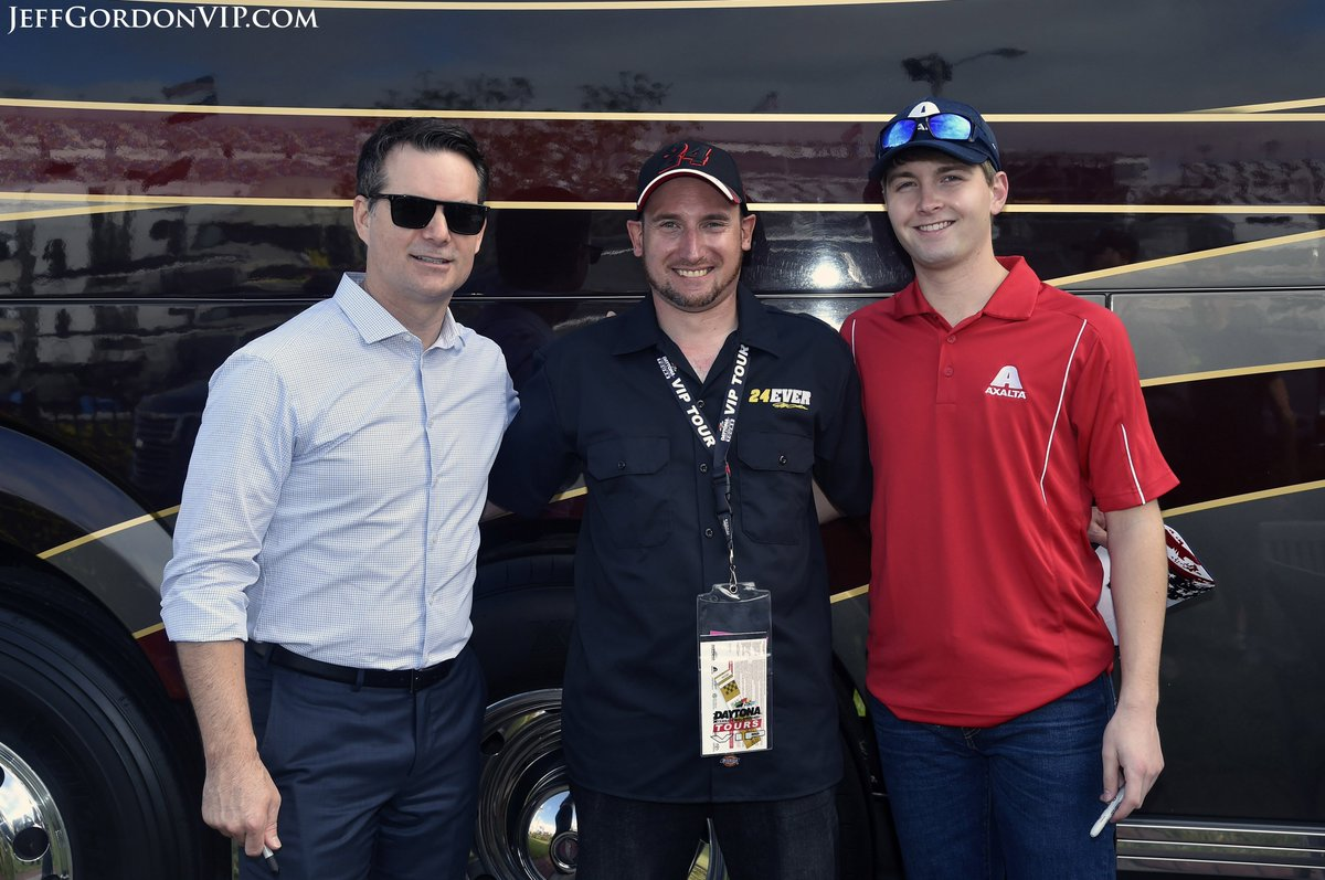 This is the final year that the #JeffGordon24EverVIP Experience will be available. Limited spots remain at 9 events. Full details at https://t.co/xw1nZcnzTO.  Great to hear your feedback, @hrtthekid! Glad you were able to attend. Thank you for your support from Australia! #TeamJG