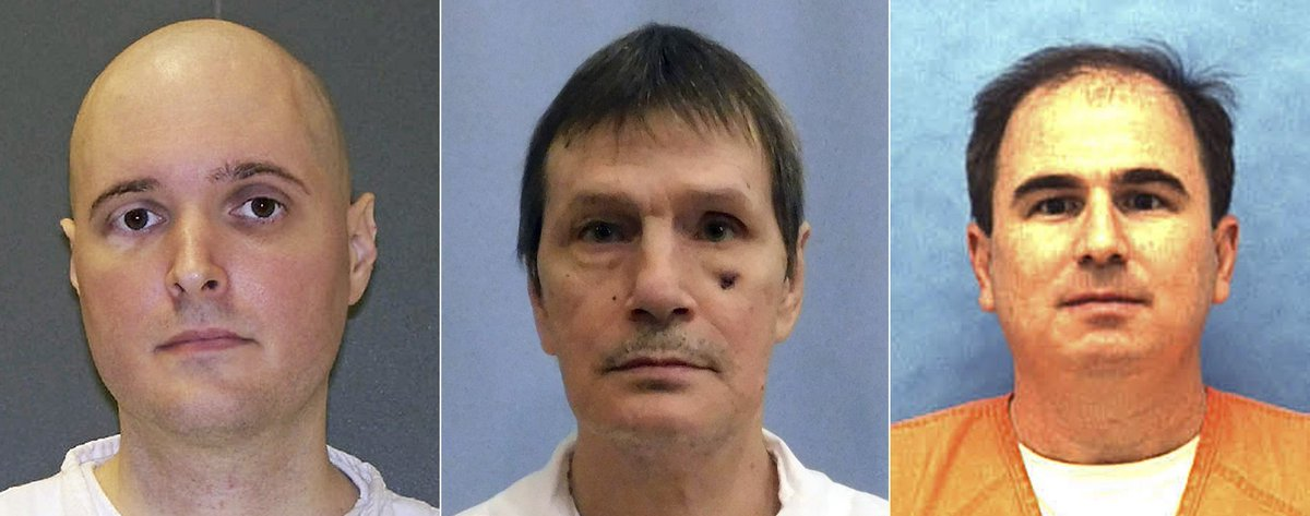 Florida executes inmate; Texas, Alabama executions halted https://t.co/pNxJlwIOtT