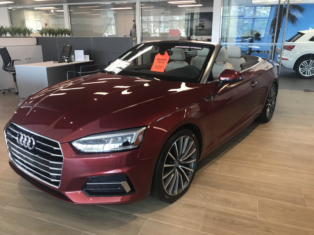 Audi Sarasota On Twitter Manager Demo Special This Gorgeous 2018