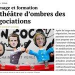 Image for the Tweet beginning: Les accords laborieusement élaborés sur
