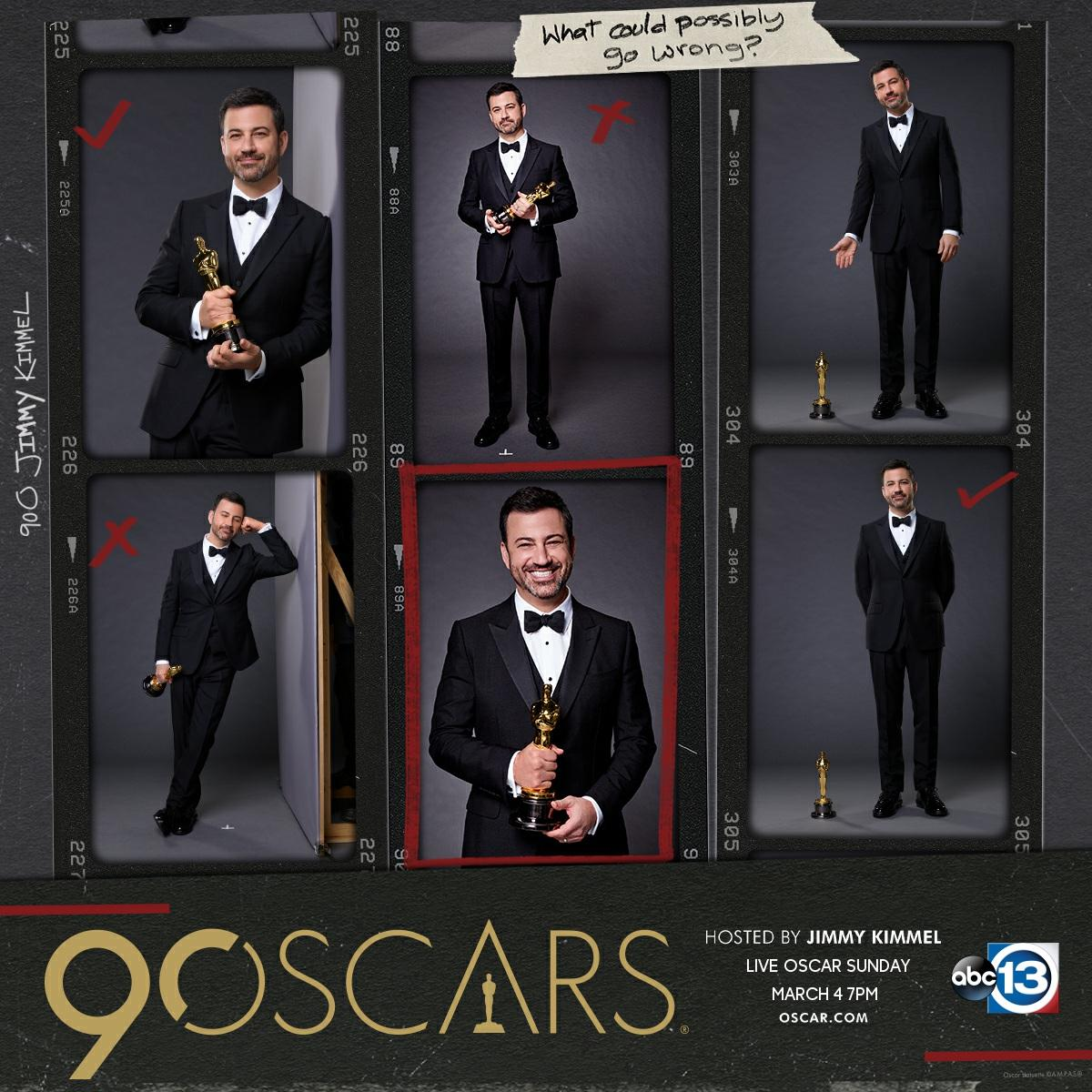 We're counting down to #OscarSunday on March 4!! #Redcarpet coverage starts at 4:30pm. The #Oscars hosted by @jimmykimmel start at 7pm.   Check out the full list of nominees:  https://t.co/zEV5zgt5qN