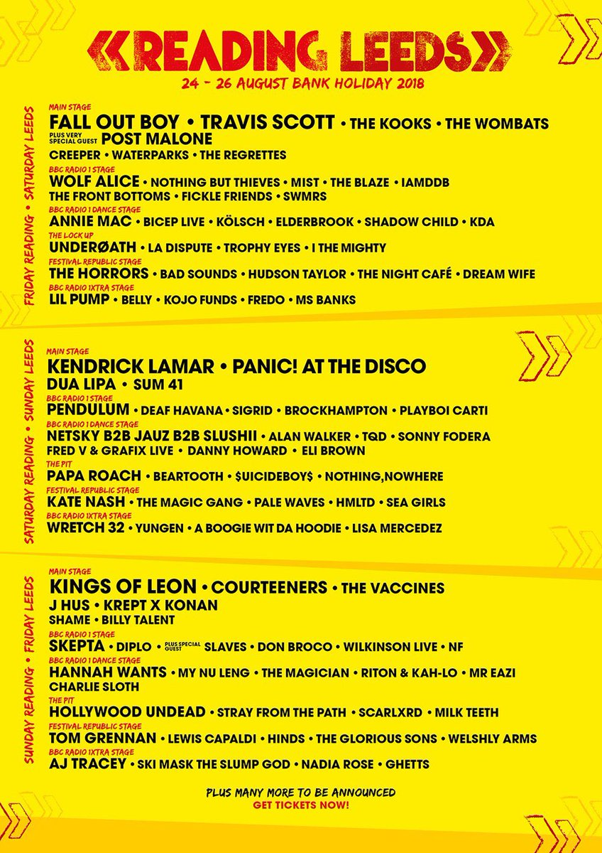 So what does everyone think of the latest #RandL18 announcement?