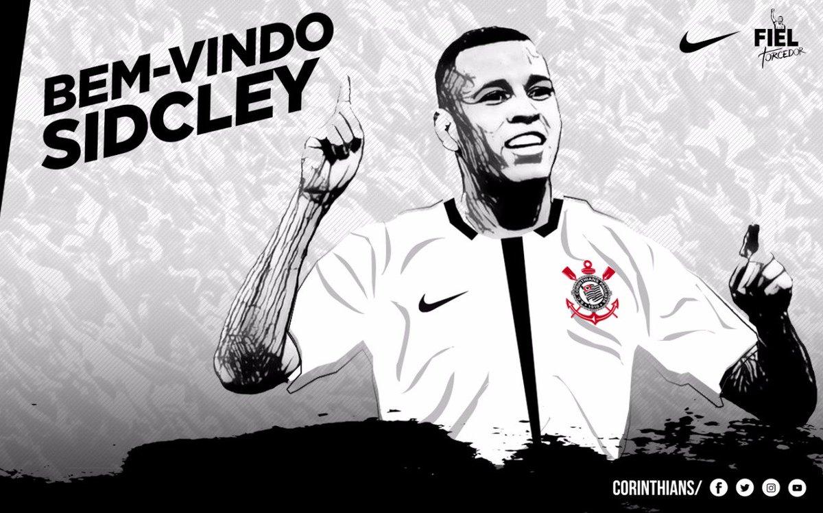 9c736b0bff Sidcley assina contrato e Corinthians confirma empréstimo até dezembro