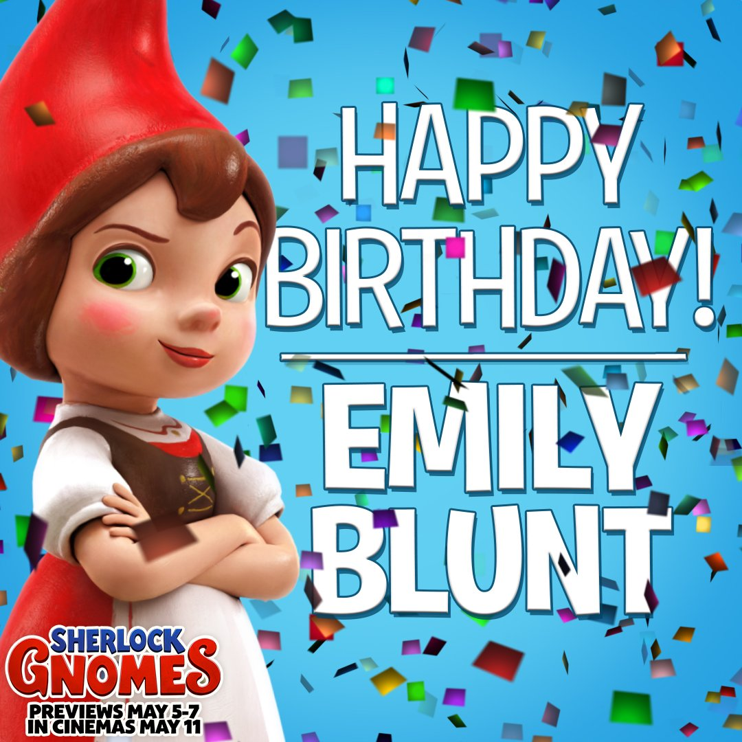ParamountUK - Happy Birthday to our very own Juliet, Emily Blunt!