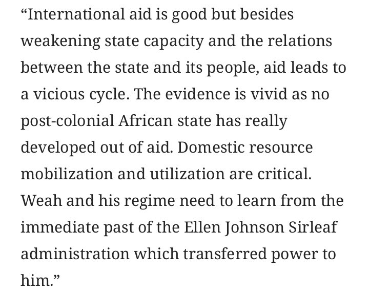 why are african states weak Failed states, or the state as failure rebuilding weak states spread from failed african states to their neighbors) 16.