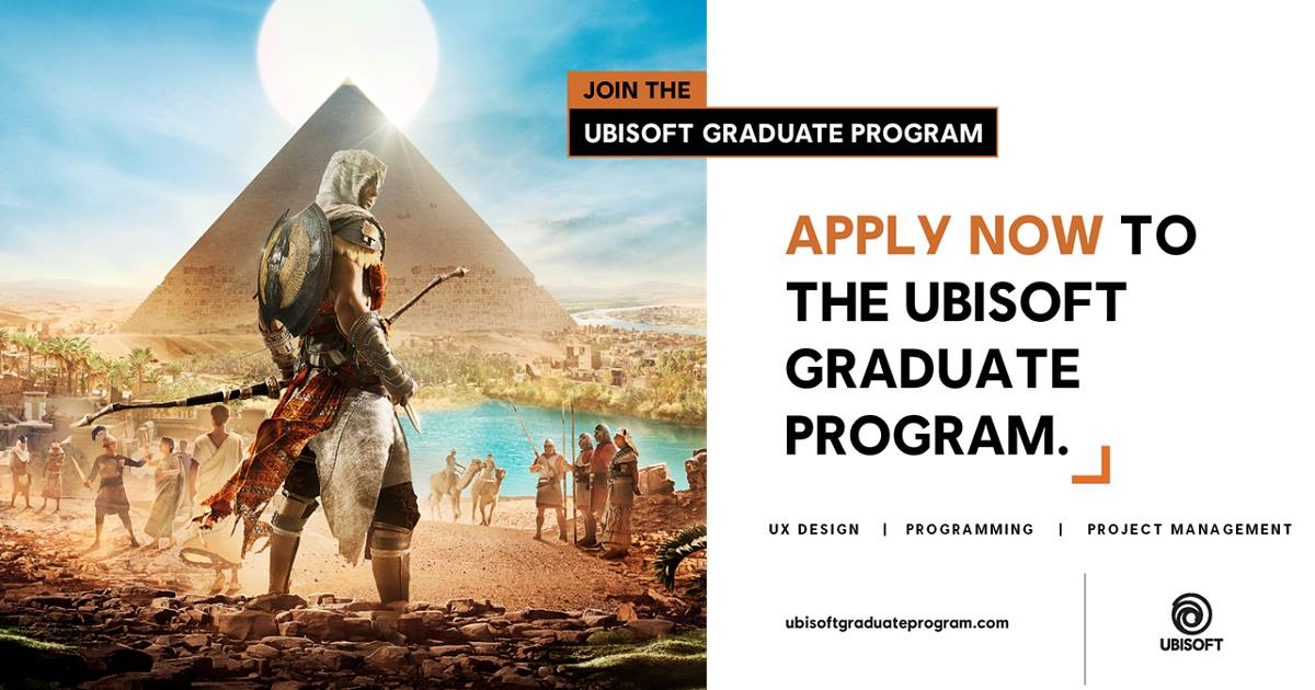 Ubisoft Careers On Twitter The Ubisoft Graduate Program Closes