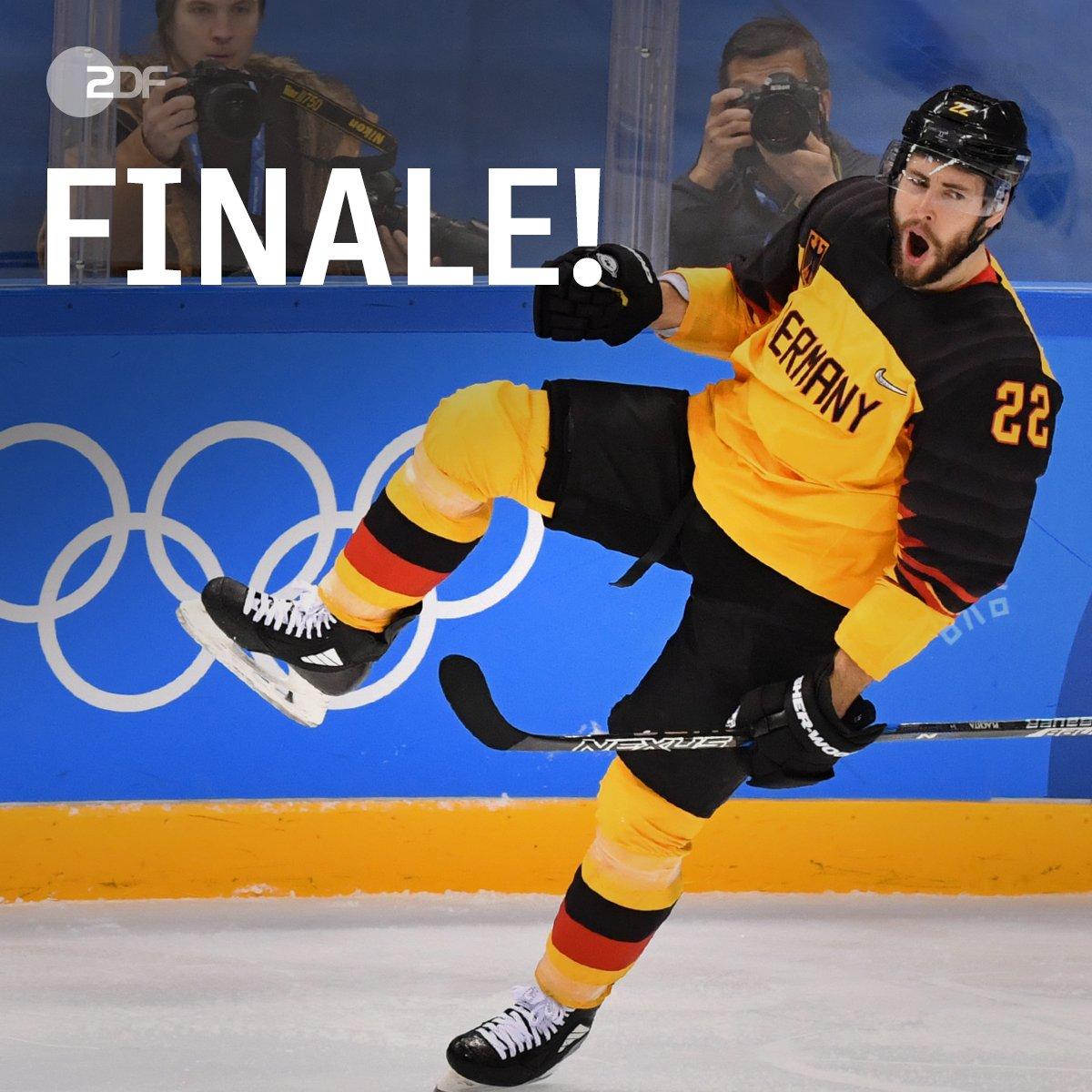 Wahnsinn! Unglaublich! Sensationell! Das deutsche Eishockey-Team schafft es ins Finale. Sie besiegten den neunmaligen Olympiasieger #Kanada und treffen nun auf #Russland. #ZDFwinterspiele #PyeongChang2018