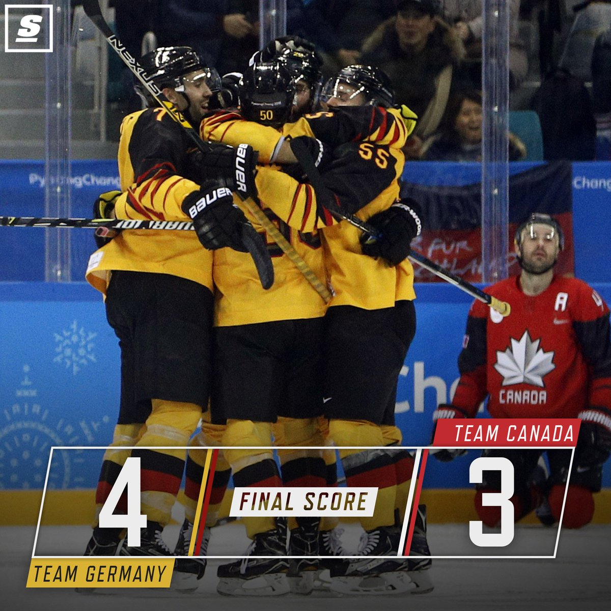 Germany holds off Canada's comeback bid to advance to the gold medal game! 😱 🇩🇪