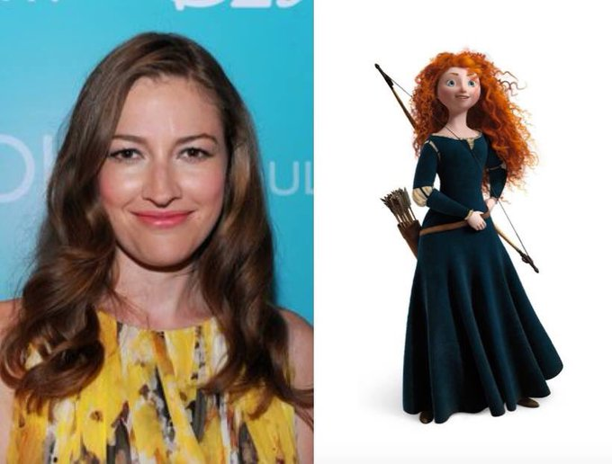 Happy 42nd Birthday to Kelly Macdonald! The voice of Merida in Brave.