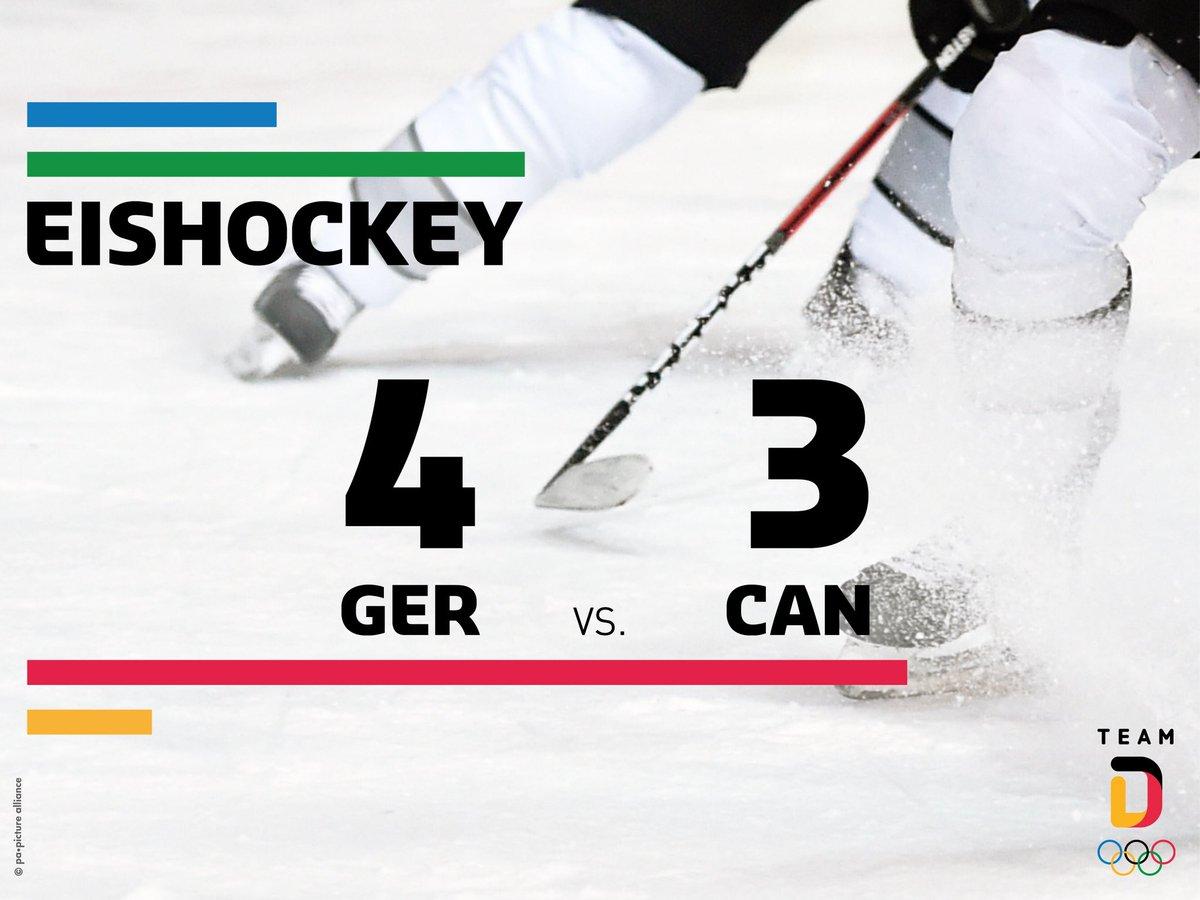 #CAN you believe it? Wir spielen um GOLD. Das ist historisch. #WirfuerD #TeamDeutschland #PyeongChang2018