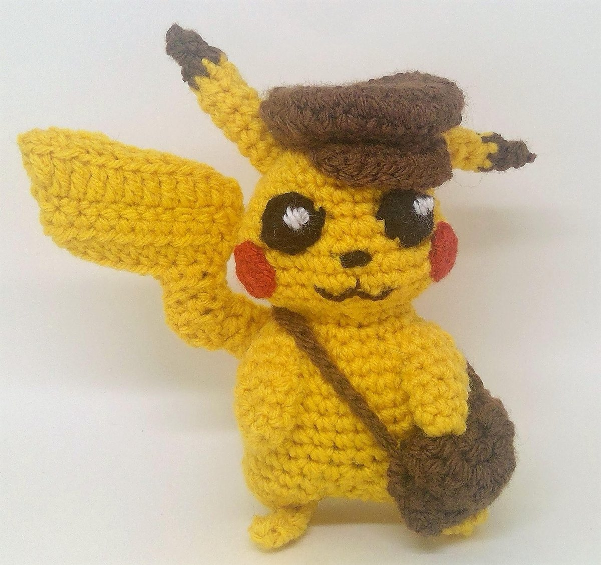 Beldum Crochet Pokemon Life Size by TheQuaintCuddlefish on Etsy ... | 1129x1200