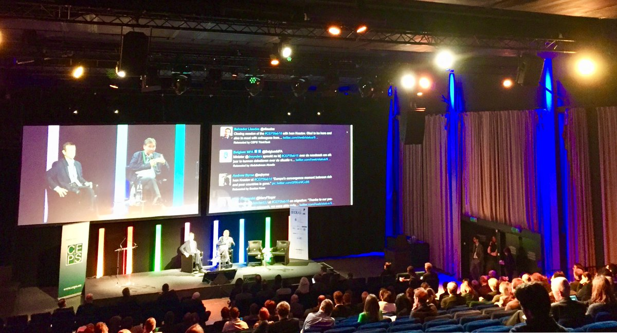 NOW: Closing Lecture w/ Ivan Krastev #CEPSlab18 is almost over! Another great edition full of intense debates.