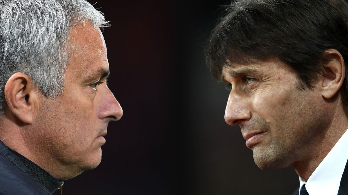 Jose Mourinho has refused to be drawn on his spat with Antonio Conte ahead of Chelseas visit to Manchester United. es.pn/2or58jZ