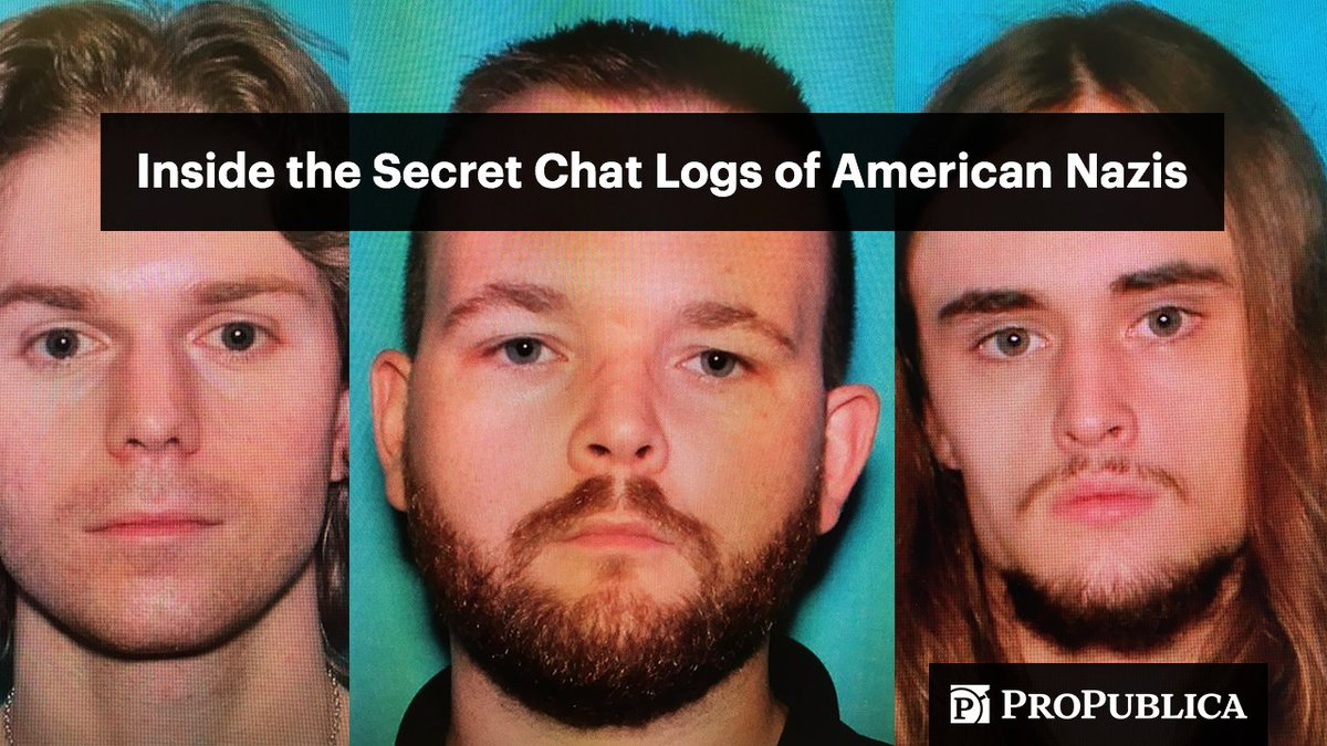 1/ Last month, we revealed Sam Woodward—the accused killer of Blaze Bernstein, a gay Jewish student—belonged to the neo-Nazi group Atomwaffen Division.   We've uncovered 250,000+ messages from the group's secret chat room. We want to show you some of them. https://t.co/fxXpKKS1ud
