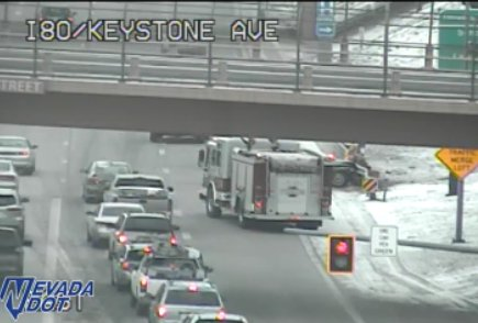.@NHPNorthern is reporting a crash on eastbound I-80 between Keystone and Virginia in Reno. Expect delays if that is part of your morning commute.
