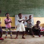 RT @UNICEFDRC: Weekend mood on 😜  #FridayFeeling @...