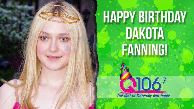 Happy 24th Birthday, Dakota Fanning!