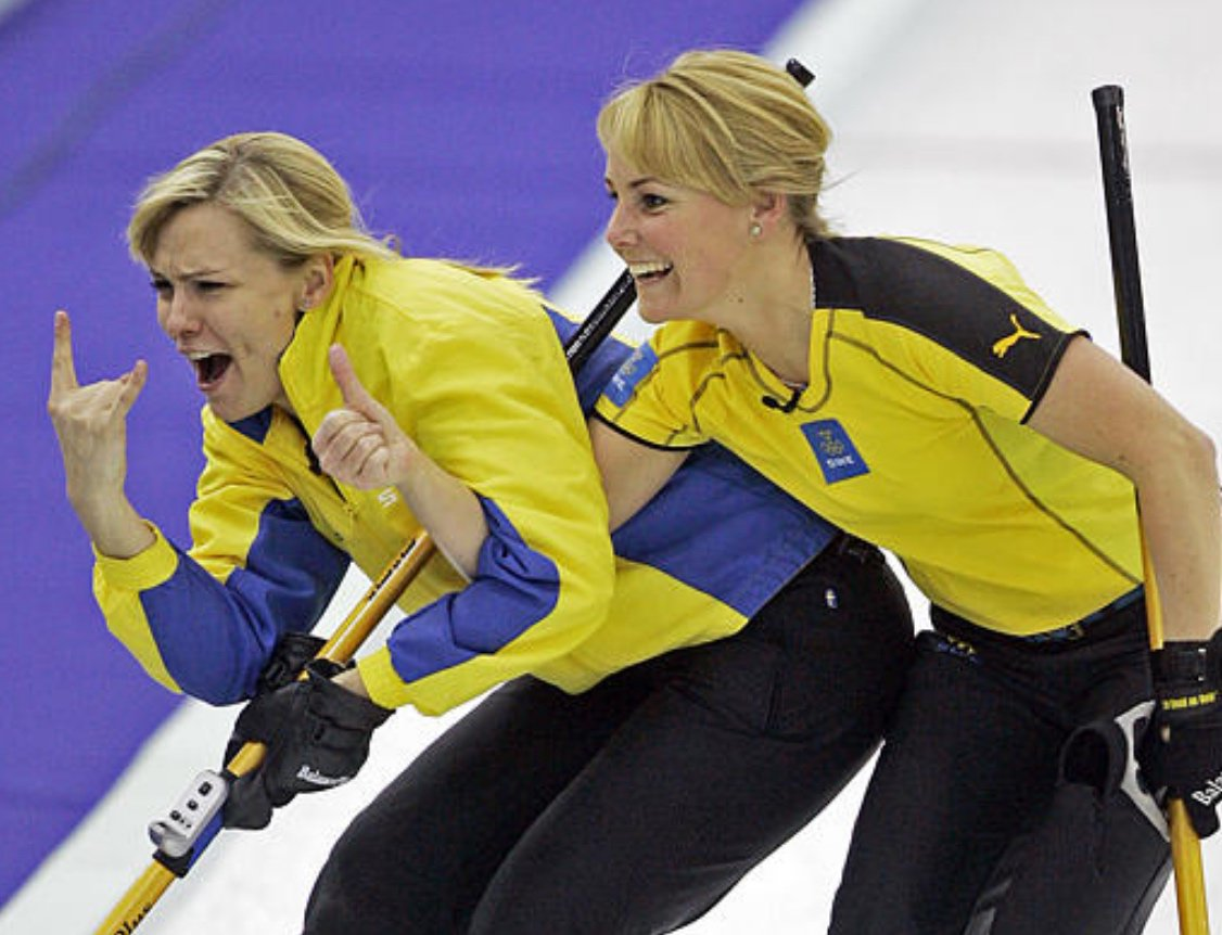 """Anette Norberg the curling news on twitter: """"12 years ago today (feb 23) in"""