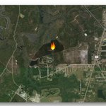 A private landowner is conducting a 53-acre wildfire hazard reduction prescribed burn today in Nassau County. #GoodFires @NassauEM @NCSO_FL