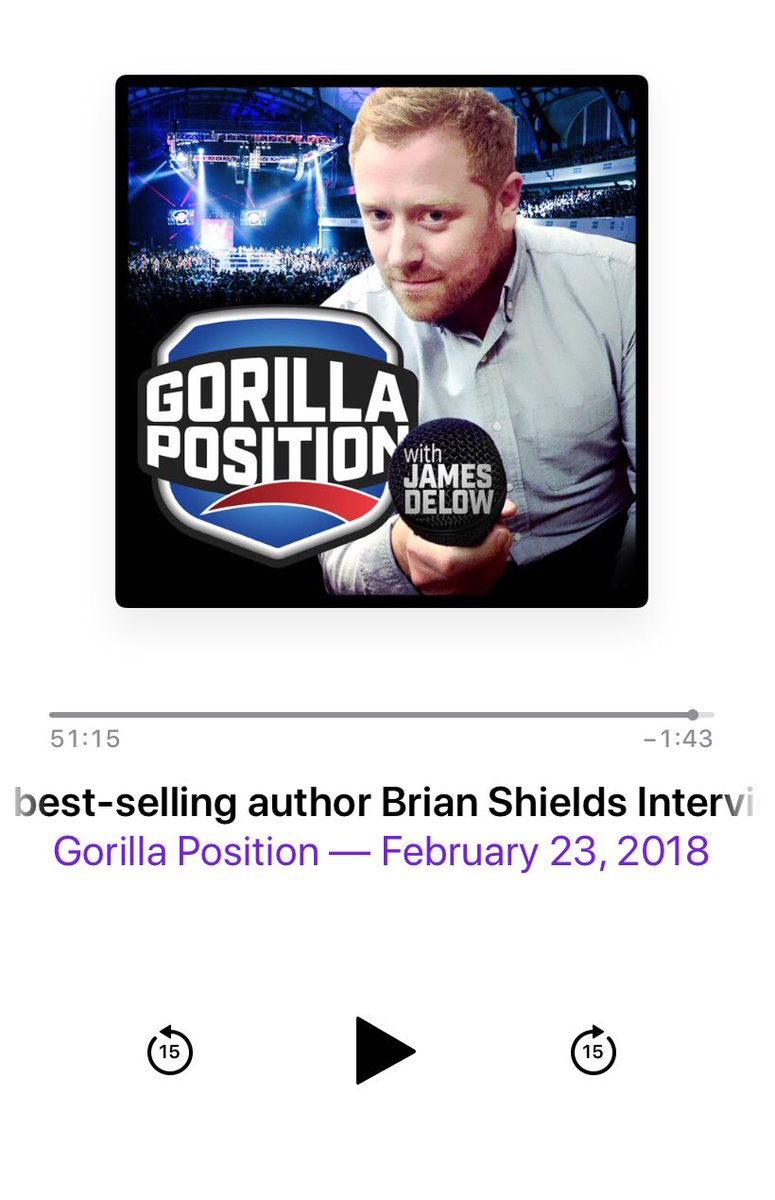 Fascinating behind the scenes discussion w/@ItsBrianShields on @WWEGP. Brian talks about working with @MsCharlotteWWE & @RicFlairNatrBoy on #SecondNature and the positive impact that experience had on him. Need to give it a second read now! #Wooooo!