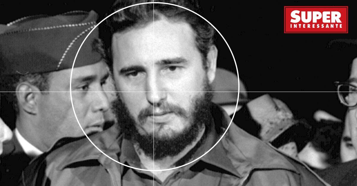 Em 24/02/2008, Fidel Castro deixou a presidência de Cuba após 32 anos no poder. Desde que havia tomado as rédeas do país, a CIA tentou eliminá-lo. Teve charuto explosivo, cápsula de veneno, sapato radioativo, fungo letal, spray alucinógeno... https://t.co/B5OzJrhxow