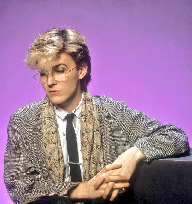 Happy 60th birthday to the best singer in the history of the world. Felicitations to David Sylvian.