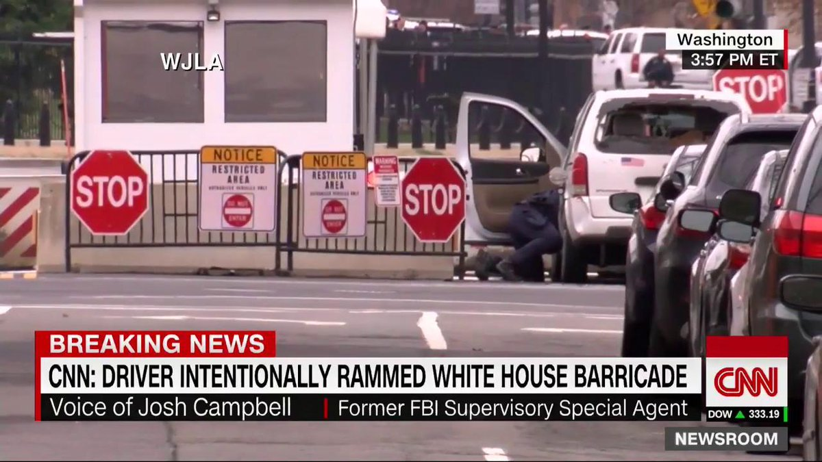 The driver of the vehicle that hit a security barrier near the White House was female and was immediately apprehended by uniformed officers, the Secret Service says https://t.co/W47sHVf8aw