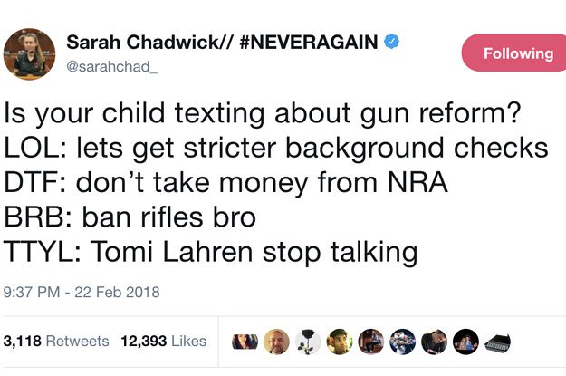 People are loving how the teen activists of Parkland are responding to their trolls  https://t.co/iTt07V6e1Y