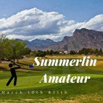 The Summerlin Amateur is coming up! You do not want to miss out on this great event. It will be played on March 10th & 11th at Highland Falls Golf Course and Palm Valley Golf Course! Register today to secure your spot! https://t.co/6ChD9Pq8bF