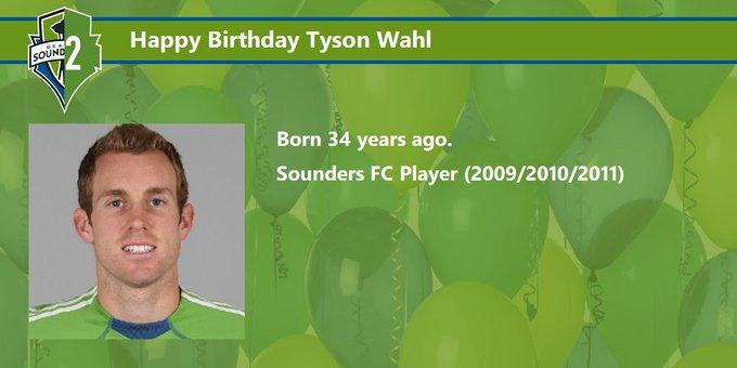 Happy Birthday Tyson Wahl