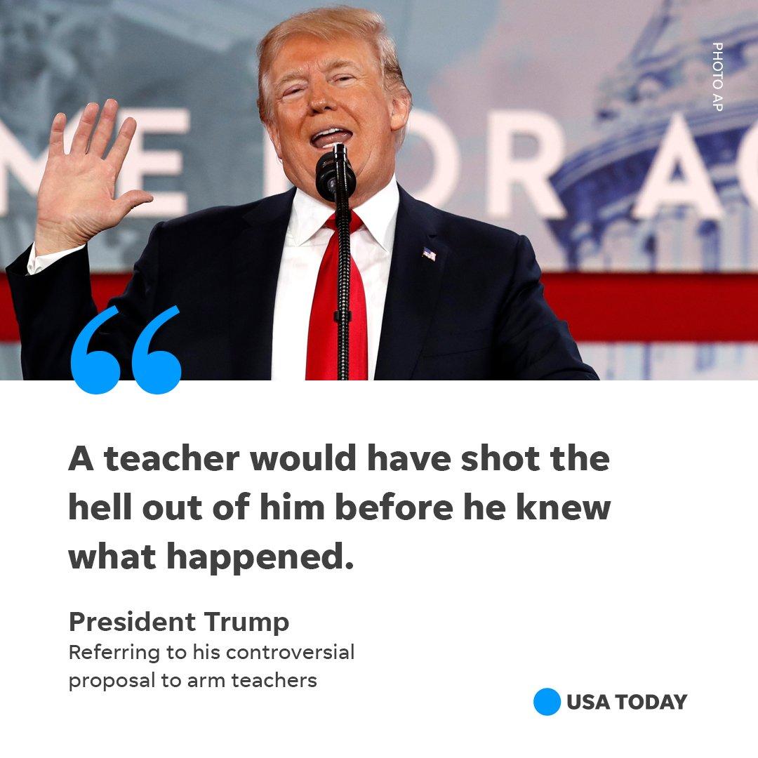 "USA TODAY On Twitter: ""Trump Slammed The Florida Deputy"