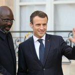 Image for the Tweet beginning: En Afrique, Emmanuel Macron veut